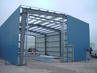 Steel Building By Construction